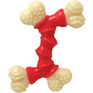 Nylabone DuraChew Double Bone Bacon Flavor Dog Toy, Medium
