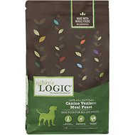 Nature's Logic Canine Venison Meal Feast Dry Dog Food, 4.4-lb bag
