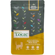 Nature's Logic Feline Chicken Meal Feast All Life Stages Dry Cat Food, 3.3-lb bag