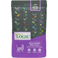 Nature's Logic Feline Rabbit Meal Feast Dry Cat Food, 3.3-lb bag