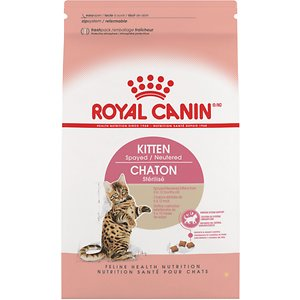 Royal Canin Feline Health Nutrition Spayed/Neutered Dry Kitten Food , 2.5-lb bag