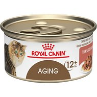 Royal Canin Aging 12+ Thin Slices in Gravy Canned Cat Food, 3-oz, case of 24