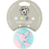 Planet Dog Orbee Pup with Treat Spot For Puppies, Lil' Pink/Teal