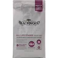Blackwood Salmon Meal & Brown Rice Recipe Sensitive Skin & Stomach Formula Dry Dog Food, 30-lb bag