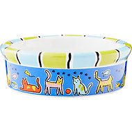 Signature Housewares Run Spot Run Cat Bowl, X-Small