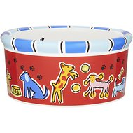 Signature Housewares Run Spot Run Dog Bowl, Small