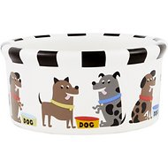 Signature Housewares Pooch Dog Bowl, Small