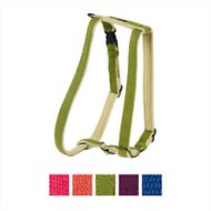Planet Dog Cozy Hemp Adjustable Dog Harness, Apple Green, Small
