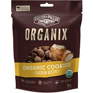 Castor & Pollux Organix Organic Chicken Flavor Cookies Dog Treats, 12-oz bag