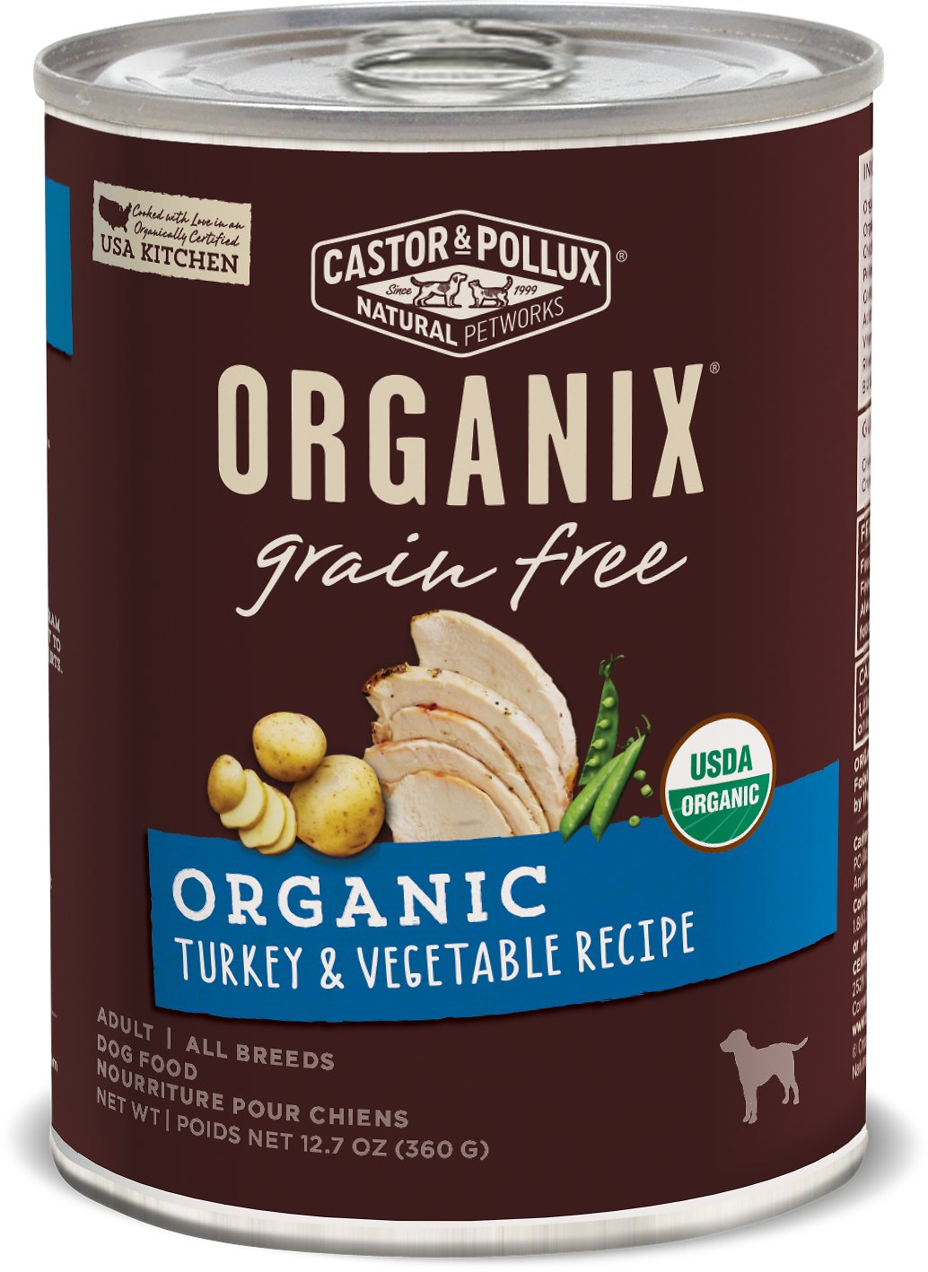 Castor And Pollux Wet Dog Food