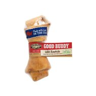 Castor & Pollux Good Buddy USA Rawhide Dog Bone Treat, Small
