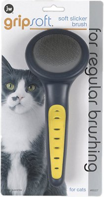 7. JW Pet Gripsoft Cat Slicker Brush