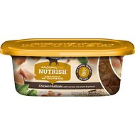 Rachael Ray Nutrish Natural Chicken Muttballs with Pasta Natural Wet Dog Food, 8-oz tub, case of 8