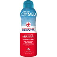 TropiClean OxyMed Medicated Oatmeal Dog & Cat Treatment Rinse, 20-oz bottle