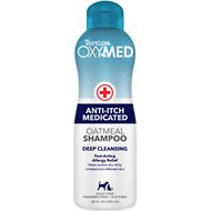 TropiClean OXY-MED Oatmeal Shampoo for Dogs, 20-oz bottle