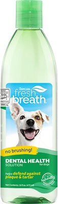 5. TropiClean Fresh Breath Water Additive