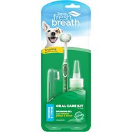 TropiClean Fresh Breath Oral Care Toothbrush Kit, Small