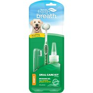 TropiClean Fresh Breath Oral Care Toothbrush Kit, Medium/Large