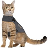 ThunderShirt Anxiety & Calming Solution for Cats, Heather Grey, Small