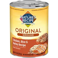 Nature's Recipe Easy-To-Digest Chicken, Rice & Barley Recipe Homestyle Ground Canned Dog Food