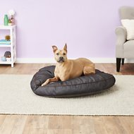 P.L.A.Y. Pet Lifestyle and You Urban Denim Round Bed, Brown, Large