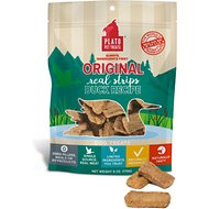 Plato Natural Duck Dog Treats, 6-oz bag