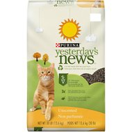 Yesterday's News Original Formula Cat Litter, 30-lb bag