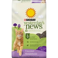 Yesterday's News Softer Texture Unscented Non-Clumping Paper Cat Litter, 13.2-lb bag