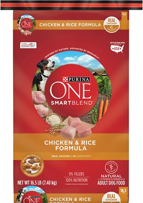 Purina One Smartblend Chicken Rice Adult Formula Dry Dog Food