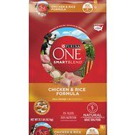 Purina ONE SmartBlend Chicken & Rice Formula Adult Premium Dry Dog Food, 31.1-lb bag