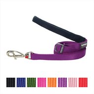 Red Dingo Classic Adjustable Dog Leash, Purple, Large