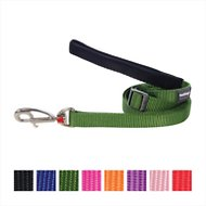 Red Dingo Classic Adjustable Dog Leash, Green, Large