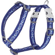 Red Dingo Designer Cosmos Dog Harness, Dark Blue, Large