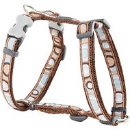 Red Dingo Designer Circadelic Dog Harness, Brown, X-Small