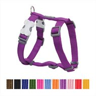 Red Dingo Classic Dog Harness, Purple, X-Small
