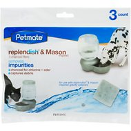 Petmate Replendish Charcoal Replacement Filters, 3 pack