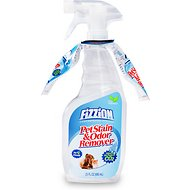 Fizzion Stain & Odor Remover, 2-Pack with Bottle