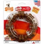 Nylabone DuraChew Textured Ring Chicken Flavor Dog Toy, X-Large