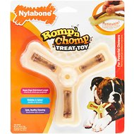 Nylabone Romp 'n Chomp Triple Treat Holder Dog Chew Toy