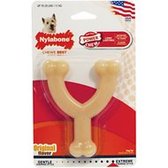 Nylabone DuraChew Wishbone Original Flavor Dog Toy, Small