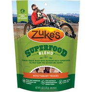Zuke's SuperFood Blend with Vibrant Veggies Dog Treats, 6-oz bag