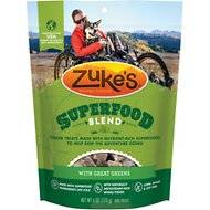 Zuke's SuperFood Blend with Great  Greens Dog Treats, 6-oz bag