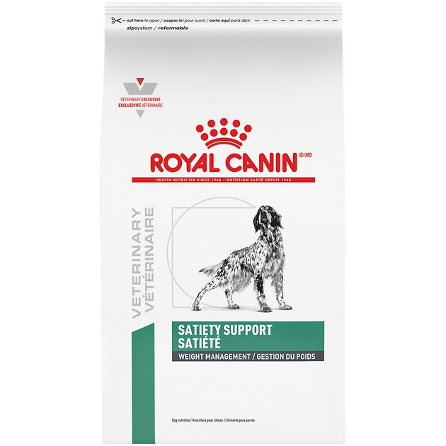 royal canin veterinary diet satiety support dry dog food 26 4 lb bag. Black Bedroom Furniture Sets. Home Design Ideas