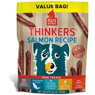 Plato Thinkers Pacific Salmon Smart Dog Treats, 22-oz bag