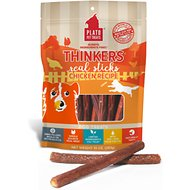 Plato Thinkers Chicken Smart Dog Treats, 10-oz bag