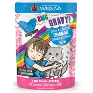 BFF OMG Tuna & Chicken Charm Me with Tuna & Chicken in Gravy Wet Cat Food Pouches, 3-oz, case of 12