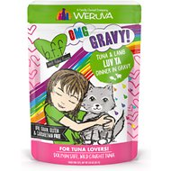 BFF OMG Tuna & Lamb Luv Yas with Tuna & Lamb in Gravy Wet Cat Food Pouches, 3-oz, case of 12