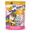 BFF OMG Tuna & Turkey Tickles Dinner in Gravy Wet Cat Food Pouches
