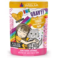 BFF OMG Tuna & Turkey Tickles Dinner in Gravy Wet Cat Food Pouches, 3-oz, case of 12