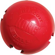 KONG Biscuit Ball Dog Toy, Small